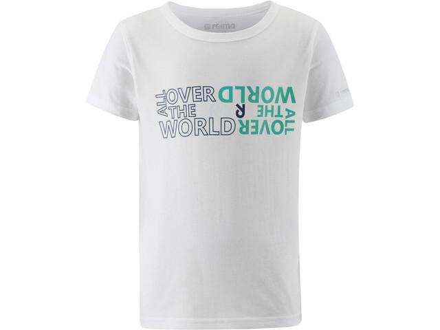 Reima Sailboat Camiseta Jóvenes, blanco
